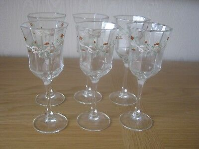 Johnson Brothers Eternal Beau Wine Glasses X 6