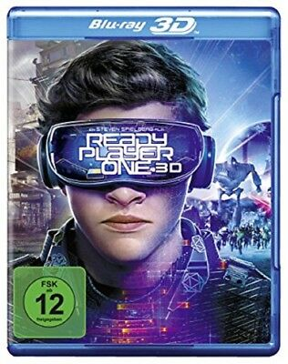 Ready Player One 3D Blu-ray NEU OVP Steven Spielberg