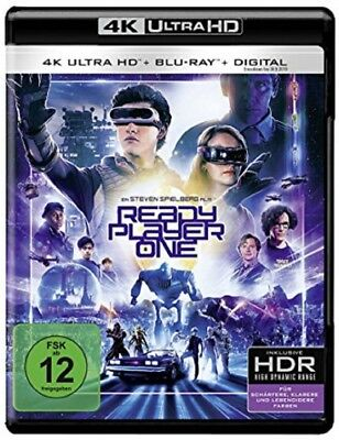 Ready Player One 4K Ultra HD + 2D Blu-ray NEU OVP Steven Spielberg