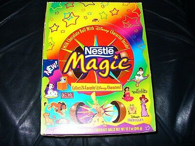 Nestle Magic Balls Disney prizes inside No chocolate included. Just balls & toys
