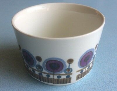 Smaller J&G Meakin Sugar Bowl - Rondo pattern, some damage