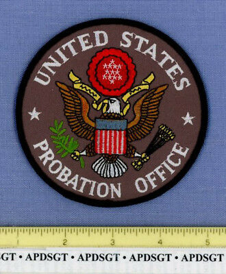UNITED STATE PROBATION OFFICE WASHINGTON DC Federal Police Patch PRESIDENTIAL
