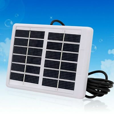 3X(6V 1.2W Solar Panel Polycrystalline Solar Cell Durdable Light Camping K3V8