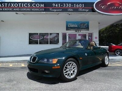 Z3 -- 1998 BMW Z3, Convertible 5 speed Manual!  Green with 39,507 Miles available now!