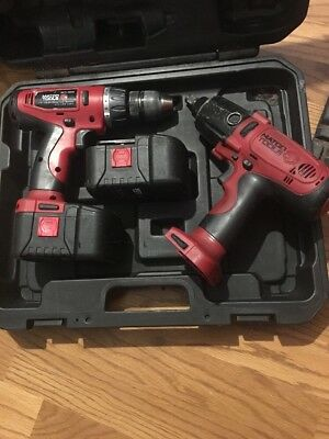 """Matco Tools 19.2Volt 1/2"""" Impact Wrench & Drill Case 2 Batteries"""