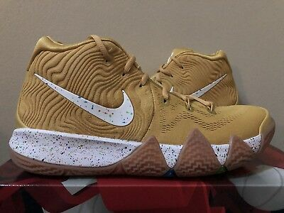 cb6cd840eae3 NIKE KYRIE 4 Cereal Pack Cinnamon Toast Crunch BV0426-900 GOLD Men ...