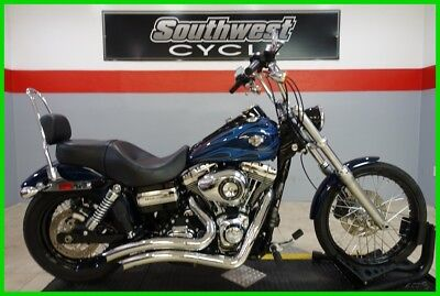 2012 Harley-Davidson Dyna  2012 Harley-Davidson Dyna Glide Wide Glide LOW MILES