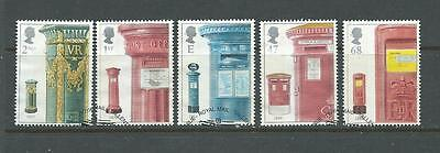 GB 2002 - Post Boxes - Set - very fine used