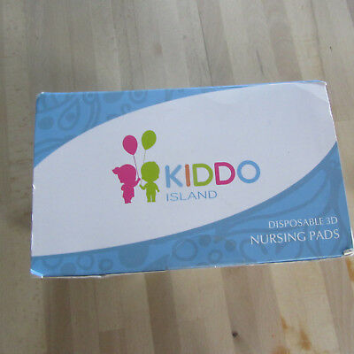 KIDDO Island - Disposable 3D Maximium Nursing Pads - 100 Box.