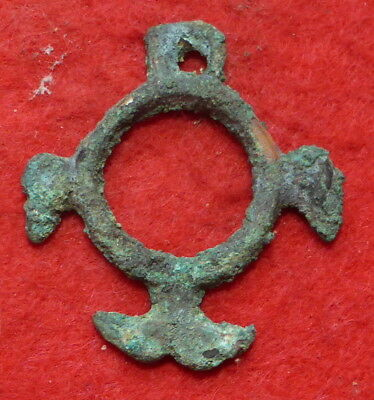 Viking Bronze Pendant