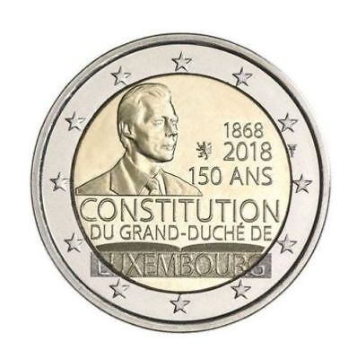 2 euro Luxembourg - 2018 - 150 ans Constitution