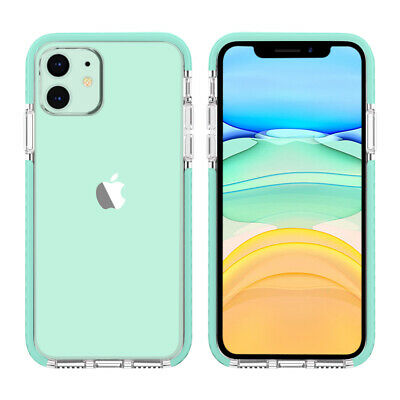 For iPhone 7 Plus 8 Plus XS Max XR Clear Case Girly Cute Slim Fit Soft TPU Cover