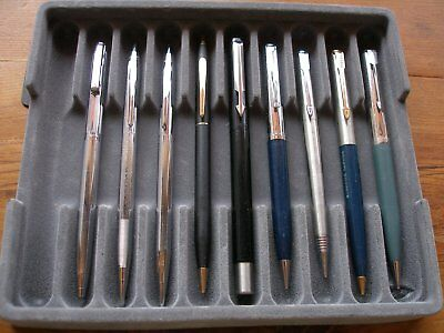 Lot collectible Sheaffer, Parker and Cross pens and mechanical pencils