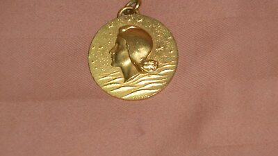 French Line maiden voyage neck charm for S. S. FRANCE