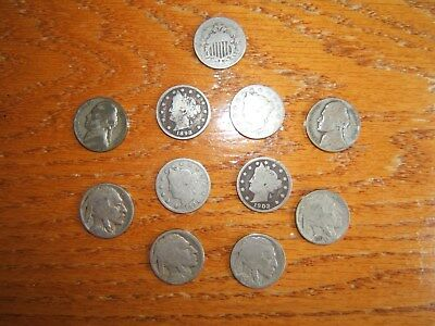 Lot of Old/Obsolete US nickels...1868-1944