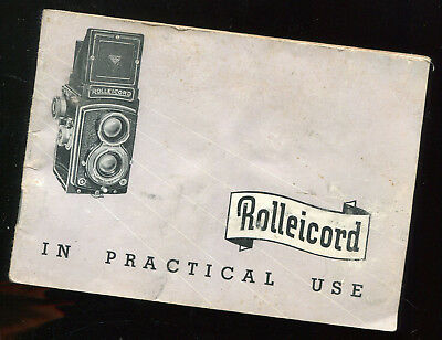 Rolleicord Camera Owners Manual