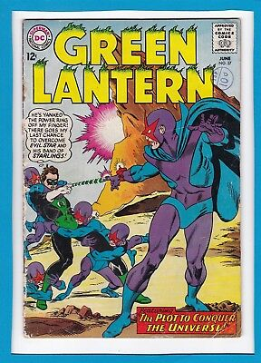 "Green Lantern #37_June 1965_Ungraded_""plot To Conquer The Universe""_Silver Dc!"