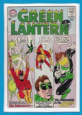 "Green Lantern #35_March 1965_Ungraded_""prisoner In The Golden Mask""_Silver Age!"
