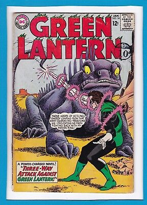 "Green Lantern #34_January 1965_Ungraded_""three-Way Attack""_Silver Age Dc!"