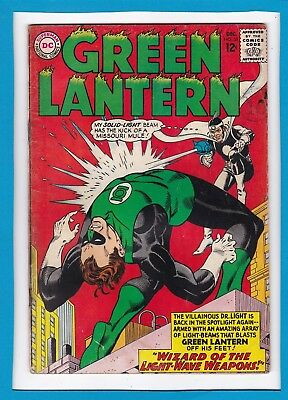 "Green Lantern #33_Dec 1964_Ungraded_""wizard Of The Light Wave Weapon""_Silver Dc!"