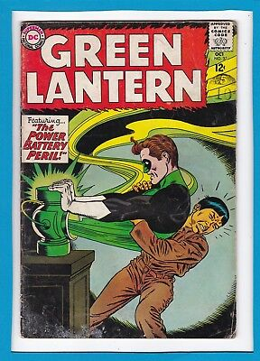 "Green Lantern #32_Oct 1964_Ungraded_""the Power Battery Peril""_Silver Age Dc!"
