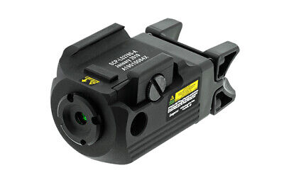 Leapers UTG SCP-LS279S Compact Ambidextrous Green Laser, Integral Mount, Black