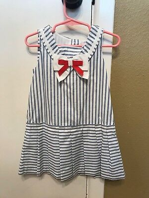 Janie and Jack Sailor Dress 3T