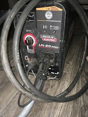 lincoln ln-25 wire feed welder