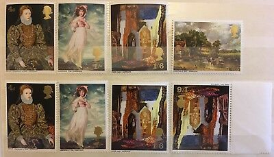 GB MINT 1968 SG763-6 British Paintings stamp set prev lightly hinged, spares MNH