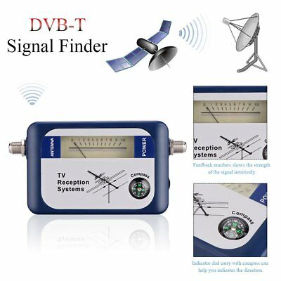 DVB-T DT-01 Digital Aerial TV Antenna Signal Finder Strength Meter Compass LOTKE