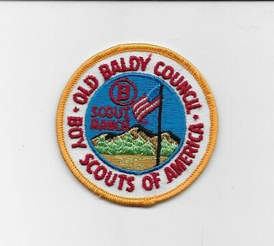 Circle B Scout Ranch Patch Old Baldy Council