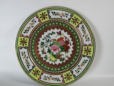 Fine! Chinese Famille Rose Porcelain Gilding Dish 1970's