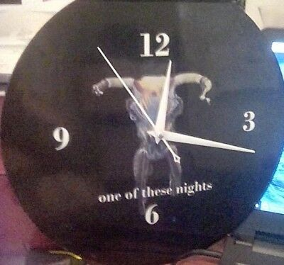 The Eagles - One Of These Nights - 12 Inch Wall Clock With Free Poster Free Ship