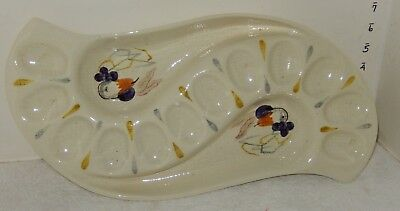 Red Wing CAPISTRANO Deviled egg plate dish holder~~~~NICE  LOOK