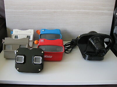 Vintage Sawyer View-Master Junior Projector, Fiver Viewers