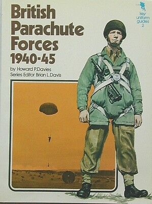 """ILLUSTRATED, 1st EDITION """"BRITISH PARACHUTE FORCES 1940-45"""", H.DAVIES, SOFTCOVER"""