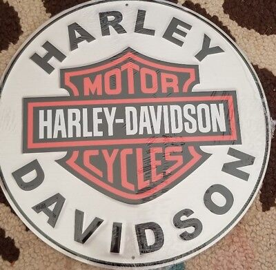Harley Davidson Metal Sign  New