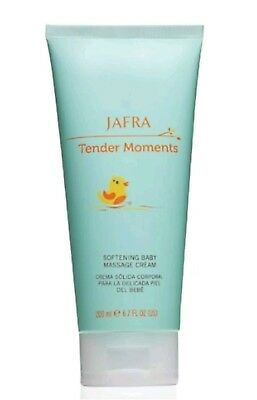 Jafra Tender Moments Fresh Softening Baby Massage Cream 6.7 OZ Brand New