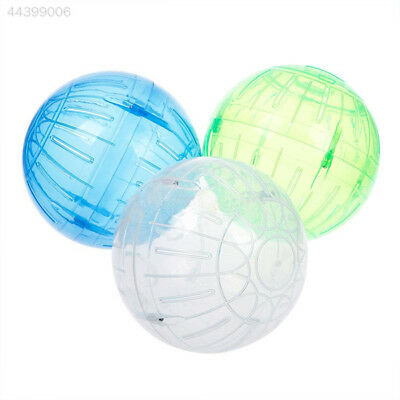 1B23 Cute Plastic Pet Mice Gerbil Hamster Jogging Playing Exercise Ball Toy