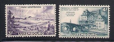 Luxembourg  1953  Sc #293-94  MNH  (41767)