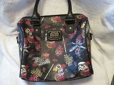 Loungefly Star Wars Floral Stormtrooper Purse