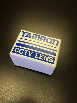 TAMRON CCTV Lens 25mm 1:1.6 With Lock NEW & NEVER USED Made Japan Video Security
