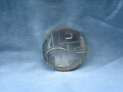 1969 Israel Silver 10 Lirot 21st Independence Anniversary Coin 26 grams