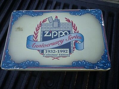 Vintage Zippo 1932-1992 Anniversary  Series Lighters