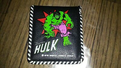 The Incredible Hulk Wallet 1978 Nice Condition