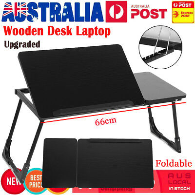 Portable Foldable Laptop Stand Desk Lap Bed Table Tray Bed Computer Adjustable