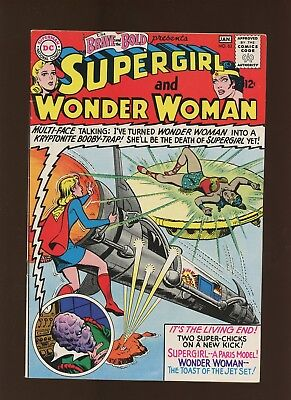 Brave and the Bold 63 VF+ 8.5 * 1 Book Lot * Supergirl! Wonder Woman! Superman!