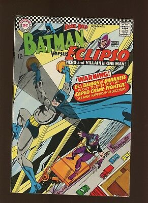 Brave and the Bold 64 VF 8.0 * 1 Book Lot * Batman Versus Eclipso! Win Mortimer!