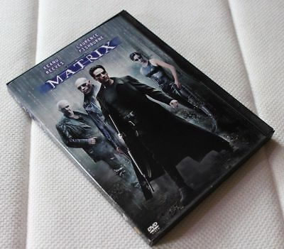The Matrix (DVD, 1999) Keanu Reeves, Laurence Fishburne, Carrie-Anne Moss