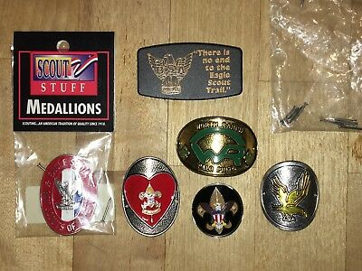 BOY Scouts Eagle Scout - Hiking staff medallions - Bill clip - Worth Ranch